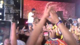 Pharrell rejoind Odd future sur scène