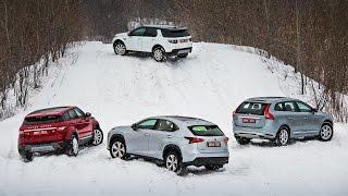 getlinkyoutube.com-Lexus NX, Volvo XC60, Evoque, Disco Sport — групповой тест