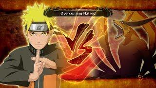 getlinkyoutube.com-Naruto Shippuuden Ultimate Ninja Storm 3 FB: Naruto Sage Vs Kyuubi Full Boss Battle Gameplay [PC]