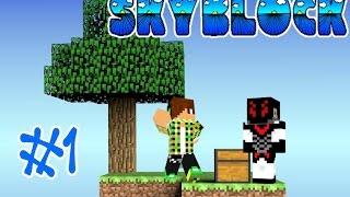 getlinkyoutube.com-Minecraft - Skyblock ft.kaiser #1 เอาชีวิตรอดที่เกาะลอยฟ้า !