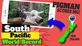 getlinkyoutube.com-South Pacific World Record Wild Hog Archery Kill on Camera!!