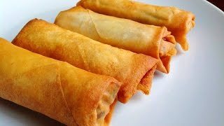 getlinkyoutube.com-Egg Rolls Recipe Chinese - Easy Homemade Egg Rolls Video Tutorial by (HUMA IN THE KITCHEN)