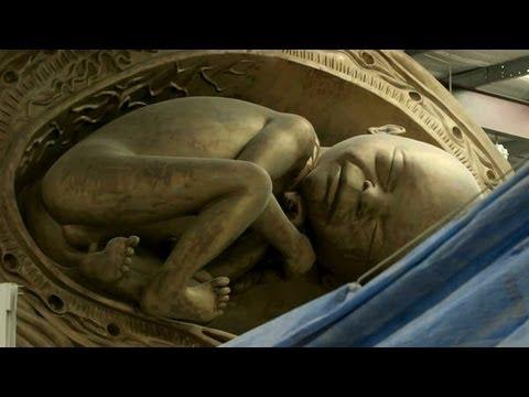 Damien Hirst 2013 - Massive Bronze Sculptures Unveiled
