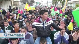 getlinkyoutube.com-#hebron تشييع جثمان الشهيد هيثم البو في حلحول  شمال الخليل ٦ -٢-٢٠١٦