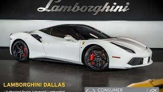 getlinkyoutube.com-2016 Ferrari 488 GTB Bianco Avus L0927
