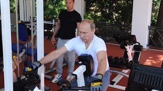 getlinkyoutube.com-Gym & BBQ: Putin, Medvedev enjoy healthy Sunday in Sochi