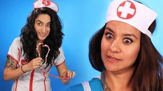 "getlinkyoutube.com-Nurses Review ""Nurse"" Costumes"
