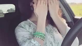 Beautiful Girl Dance In Car