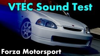 getlinkyoutube.com-Forza Motorsport - Top 10 VTEC sounds