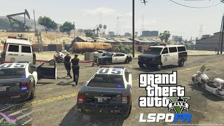 getlinkyoutube.com-GTA 5 PC MODS - LSPDFR - POLICE SIMULATOR - EP 2 (NO COMMENTARY)