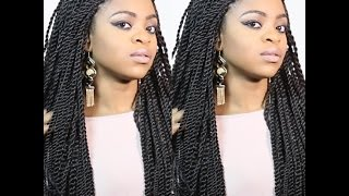 getlinkyoutube.com-Tutorial: Crochet Senegalese Twists in Just 3 Hours!!!!!!