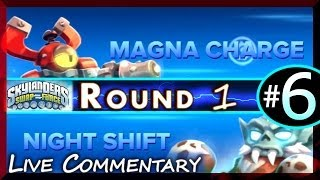 getlinkyoutube.com-Skylanders Swap Force Magna Charge Vs Night Shift Battle Arena PVP Tournament Round 1 Fight #6 [HD]
