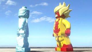 getlinkyoutube.com-ICEMAN VS PYRO (BATTLE) - LEGO Marvel Super heroes