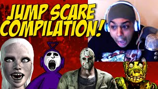 getlinkyoutube.com-[HILARIOUS! / SCARY] JUMP SCARE COMPILATION!