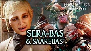 getlinkyoutube.com-Dragon Age: Inquisition - Trespasser - Sera-bas just like Saarebas (Bull & Sera hilarious banter)