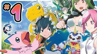 getlinkyoutube.com-Digimon World Re: Digitize Walkthrough Part 1 (PSP) ENGLISH Gameplay /// No Commentary
