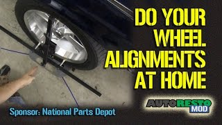getlinkyoutube.com-Do It Your Self Toe, Camber Caster Home Wheel Alignment Using Quick Trick Tools Episode 248 Autorest