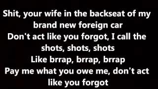 getlinkyoutube.com-Rihanna - Bitch Better Have My Money (Lyrics on Screen)