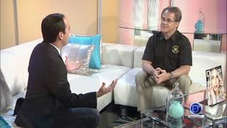 El agente Efraín Hernández nos habla de la responsabilidad a la hora de hacer fiestas en casa