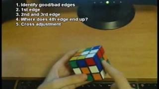 getlinkyoutube.com-Rubik's Cube: Cross (Advanced)