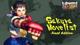 getlinkyoutube.com-USFIV - Sakura Move List: Final Edition