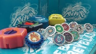 MINI Beyblade Battle! Pokemon XY2 Battle Wheel vs XYBW and MINI Beyblades - PLASTIC VS METAL?
