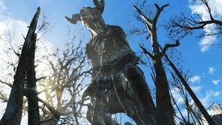 getlinkyoutube.com-Fallout 4 - Battle of the Giants! - Behemoth/Deathclaw/Mirelurk...