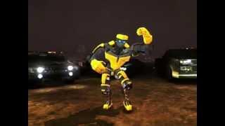 getlinkyoutube.com-Real Steel Black Top VS Atom NEW