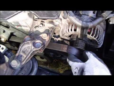 How to setup drive belt or serpentine belt Toyota VVT-i engine. VERY DETAILED INFO