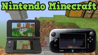 getlinkyoutube.com-Minecraft Wii U & Minecraft 3DS - Current Status