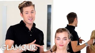 getlinkyoutube.com-How to Make Hair Look Good Between Shampoos - Hey, Hair Genius EP1 - Glamour