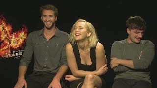 "Jennifer Lawrence says Hunger Games co-stars ""didn't make me horny"""
