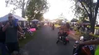 getlinkyoutube.com-Kentucky Bike Rally 2015 - Ride around the loop  (Little Sturgis Rally 2015)