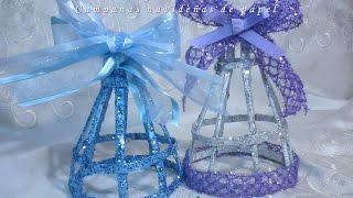 getlinkyoutube.com-CAMPANAS NAVIDEÑAS DE PAPEL. DIY. Christmas paper bells