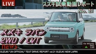 getlinkyoutube.com-【HD】スズキ 2015新型ラパン 試乗インプレッション