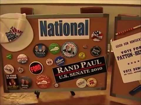 Kentucky Museum Elections and Politics Traveling Trunk