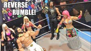 getlinkyoutube.com-GTS WRESTLING: REVERSE ROYAL RUMBLE! WWE Mattel Elite Figure PPV Animation Event!