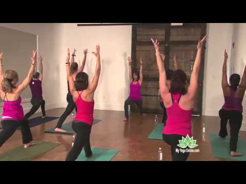 Vinyasa Yoga: Burn, Baby, Burn