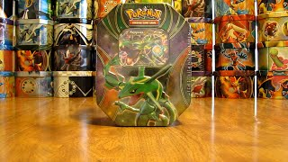 getlinkyoutube.com-Pokemon Rayquaza EX Tin Opening