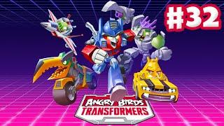 getlinkyoutube.com-Angry Birds Transformers - Gameplay Walkthrough Part 32 - Epic Optimus Rescued! (iOS)