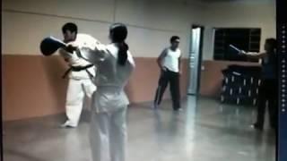 Sequência de chutes - Kyokushin Karate - Sensei Mitsuro