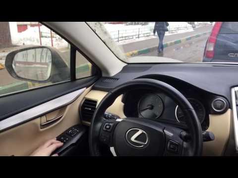Автоматическое опускание зеркал при движении задним ходом Lexus