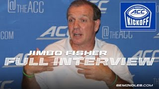 Jimbo Fisher's full interview from ACC Kickoff.
