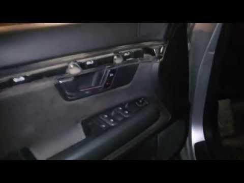Как снять обшивку двери на Audi A4 B6