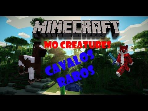 Minecraft Tutorial de Acasalamento de Cavalos no Mo'Creatures 1.7.10
