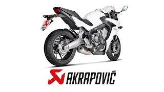 getlinkyoutube.com-Honda CB650F/CBR650F Stock VS Akrapovic Exhaust Sound Comparison