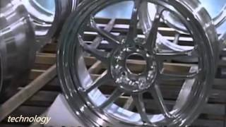 getlinkyoutube.com-Engineering technology from Japan: CNC Machine | Wheel Machines
