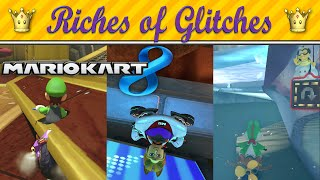 getlinkyoutube.com-Riches of Glitches in Mario Kart 8 (Glitch Compilation)