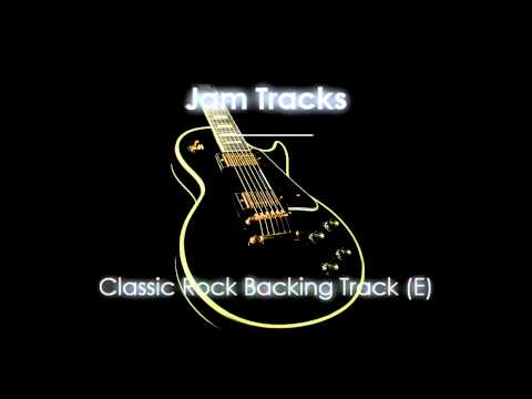 Rock Backing Track (E)