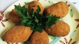 Kulki z ryżu (włoskie suppli)